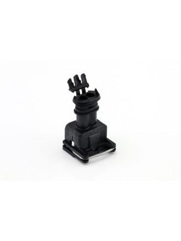 Connector 2 polig  mannelijk tbv CNG kraan